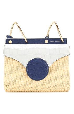 Женская сумка phoebe folio mini DANSE LENTE синего цвета, арт. MINI PH0EBE F0LI0/PALE BLUE/SAPHIRE | Фото 1