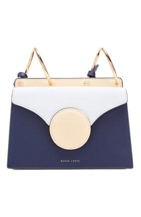 Женская сумка phoebe mini DANSE LENTE голубого цвета, арт. MINI PH0EBE/SAPHIRE/PALE BLUE | Фото 1