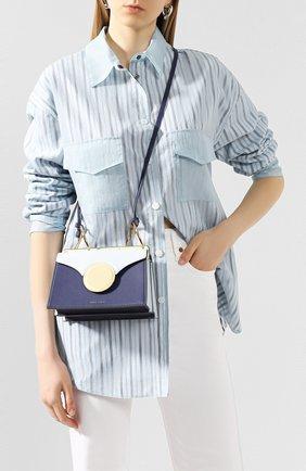 Женская сумка phoebe mini DANSE LENTE голубого цвета, арт. MINI PH0EBE/SAPHIRE/PALE BLUE | Фото 2