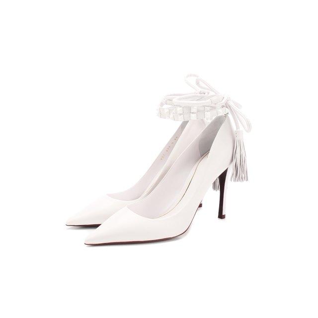 Кожаные туфли Valentino Garavani Rockstud Flair Valentino