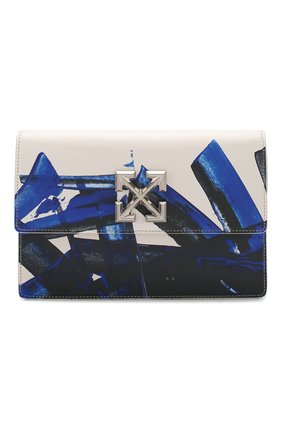 Женская сумка 1.0 jitney OFF-WHITE белого цвета, арт. 0WNA091R20H751140130 | Фото 1