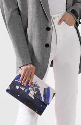 Женская сумка 1.0 jitney OFF-WHITE белого цвета, арт. 0WNA091R20H751140130 | Фото 2