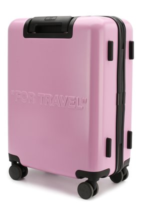 Женский дорожный чемодан arrow OFF-WHITE розового цвета, арт. 0WNG001R20F610672727 | Фото 2