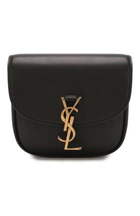 Женская сумка kaia small SAINT LAURENT черного цвета, арт. 619740/BWR0W | Фото 1