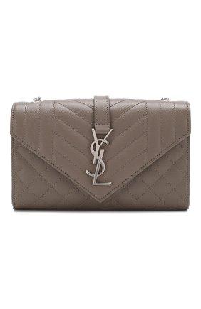 Женская сумка classic small SAINT LAURENT бежевого цвета, арт. 600195/B0W96 | Фото 1