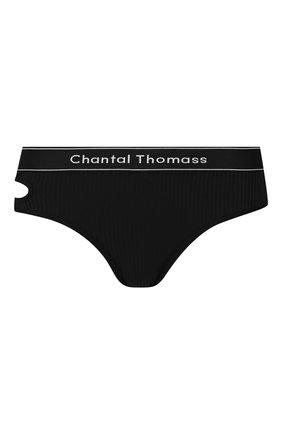 Женские трусы-стринги CHANTAL THOMASS черного цвета, арт. T05C80 | Фото 1