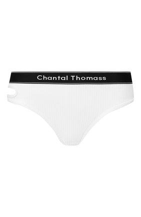Женские трусы-стринги CHANTAL THOMASS белого цвета, арт. T05C80 | Фото 1