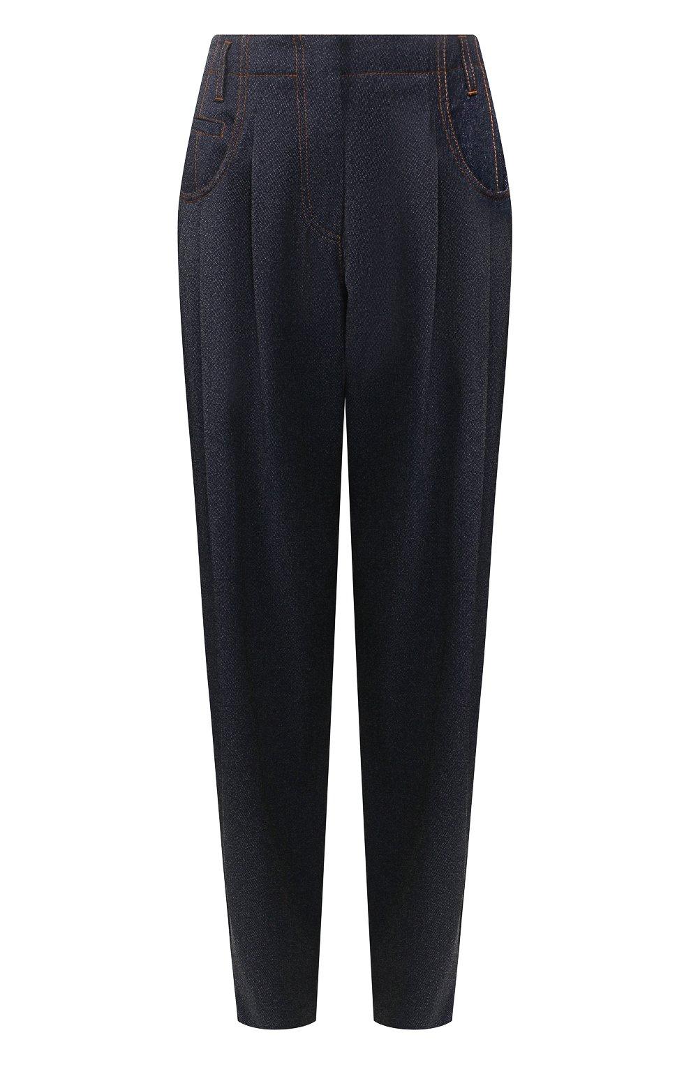 Женские джинсы GIORGIO ARMANI синего цвета, арт. 0SHPP0AG/T00G8 | Фото 1
