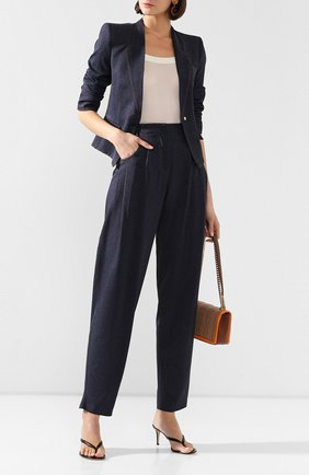 Женские джинсы GIORGIO ARMANI синего цвета, арт. 0SHPP0AG/T00G8 | Фото 2