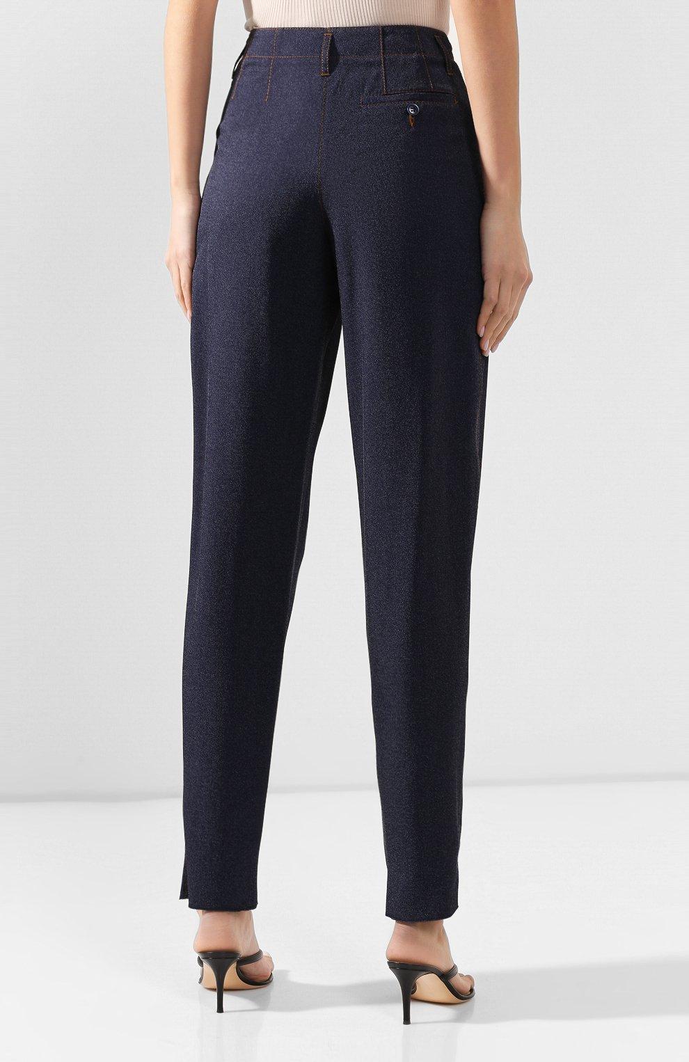Женские джинсы GIORGIO ARMANI синего цвета, арт. 0SHPP0AG/T00G8 | Фото 4