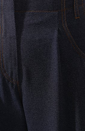 Женские джинсы GIORGIO ARMANI синего цвета, арт. 0SHPP0AG/T00G8 | Фото 5