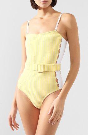 Женский слитный купальник EVARAE желтого цвета, арт. S20-70S-CIT. | Фото 2