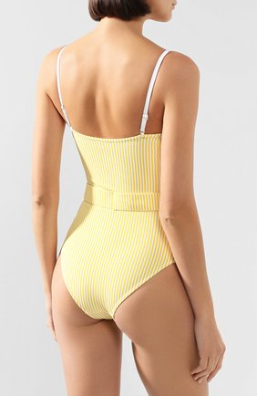 Женский слитный купальник EVARAE желтого цвета, арт. S20-70S-CIT. | Фото 3