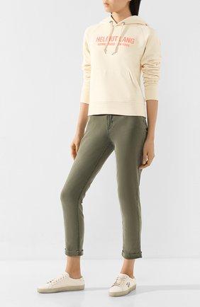 Женские брюки PAIGE хаки цвета, арт. 5659G42-8087 | Фото 2