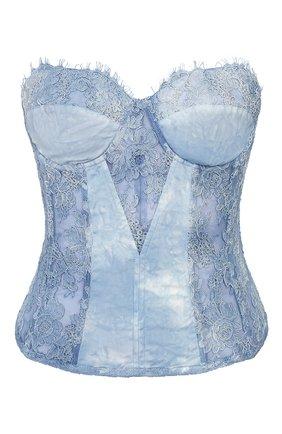 Женский топ-бюстье RALPH LAUREN голубого цвета, арт. 290797888 | Фото 1