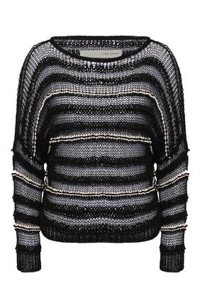 Женская свитер ISABEL BENENATO черно-белого цвета, арт. DK51S20 | Фото 1
