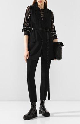 Женская свитер ISABEL BENENATO черно-белого цвета, арт. DK51S20 | Фото 2