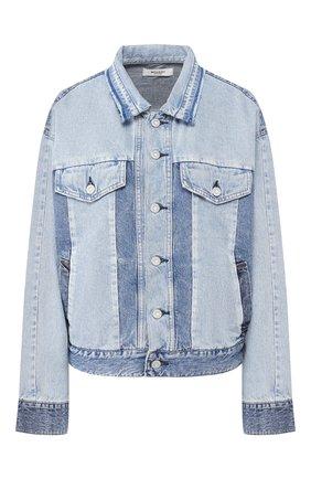 Женская джинсовая куртка MOUSSY голубого цвета, арт. 025DSN11-1000 | Фото 1