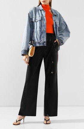 Женская джинсовая куртка MOUSSY голубого цвета, арт. 025DSN11-1000 | Фото 2
