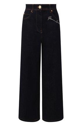 Женские джинсы VERSACE темно-синего цвета, арт. A85460/A232843 | Фото 1