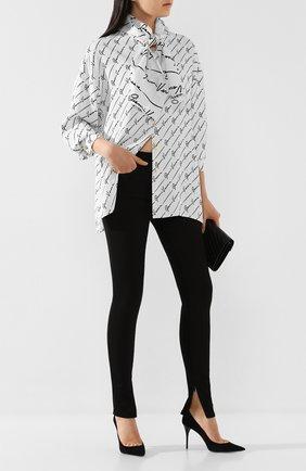 Женские джинсы VERSACE черного цвета, арт. A85450/A233030 | Фото 2