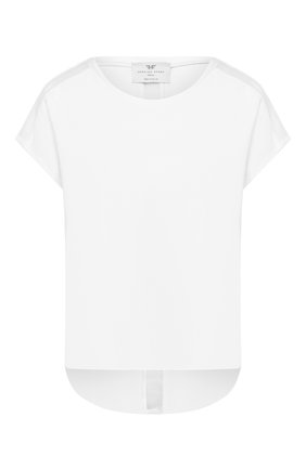 Женская хлопковая футболка HEROINE SPORT белого цвета, арт. HS-2-008/SPRING 2020 | Фото 1