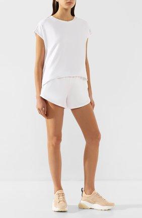 Женская хлопковая футболка HEROINE SPORT белого цвета, арт. HS-2-008/SPRING 2020 | Фото 2