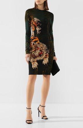 Женское платье из вискозы DSQUARED2 разноцветного цвета, арт. S72CV0103/S23666 | Фото 2