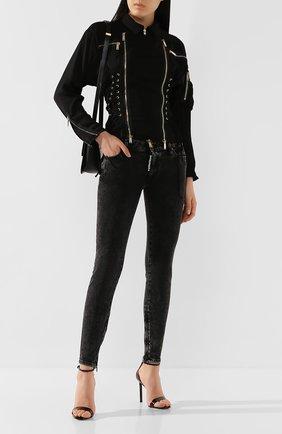 Женская куртка DSQUARED2 черного цвета, арт. S72AM0829/S52810 | Фото 2