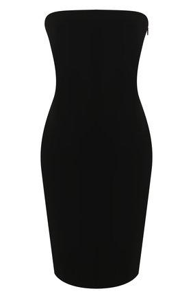 Женское платье THE ROW черного цвета, арт. 5024K285 | Фото 1
