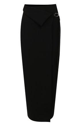 Женская юбка THE ROW черного цвета, арт. 5010K106 | Фото 1