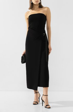 Женская юбка THE ROW черного цвета, арт. 5010K106 | Фото 2