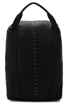 Мужской кожаный рюкзак DANIELE BASTA черного цвета, арт. DB683X01GR/AMIR GR | Фото 1