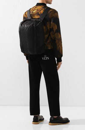 Мужской кожаный рюкзак DANIELE BASTA черного цвета, арт. DB683X01GR/AMIR GR | Фото 2