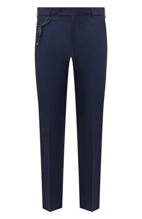 Мужской шерстяные брюки BERWICH темно-синего цвета, арт. SC/1 ALC/VB101 | Фото 1
