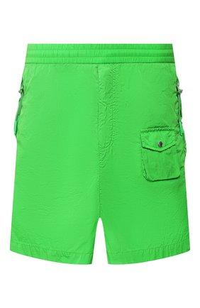 Мужские шорты MONCLER зеленого цвета, арт. F1-092-2B702-60-C0520 | Фото 1
