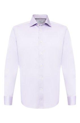 Мужская хлопковая сорочка ETON сиреневого цвета, арт. 1000 00994 | Фото 1