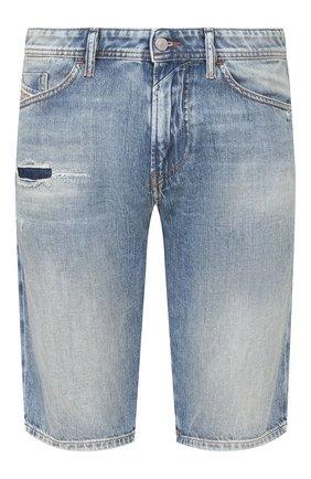 Мужские джинсовые шорты DIESEL голубого цвета, арт. 00SD3U/069LP   Фото 1