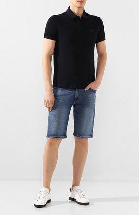 Мужские джинсовые шорты DIESEL синего цвета, арт. 00SD3U/0JAXH   Фото 2