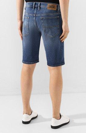 Мужские джинсовые шорты DIESEL синего цвета, арт. 00SD3U/0JAXH | Фото 4