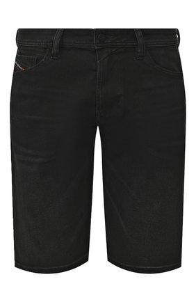 Мужские джинсовые шорты DIESEL темно-серого цвета, арт. 00SD3U/0JAXJ   Фото 1