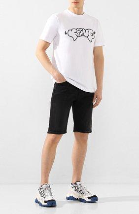 Мужские джинсовые шорты DIESEL темно-серого цвета, арт. 00SD3U/0JAXJ   Фото 2