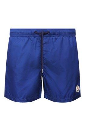 Детского плавки-шорты MONCLER синего цвета, арт. F1-091-2C708-00-53326 | Фото 1