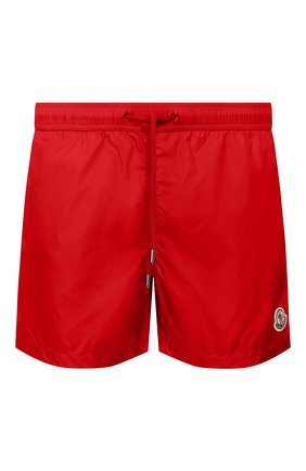 Детского плавки-шорты MONCLER красного цвета, арт. F1-091-2C708-00-53326 | Фото 1
