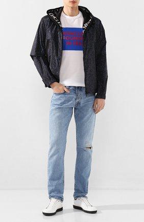 Мужская куртка siagne MONCLER темно-синего цвета, арт. F1-091-1B726-00-539UR | Фото 2