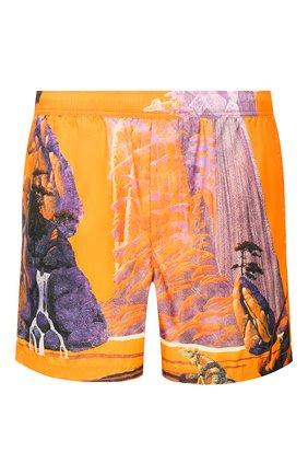 Детского плавки-шорты VALENTINO оранжевого цвета, арт. TV0UH0286BM | Фото 1
