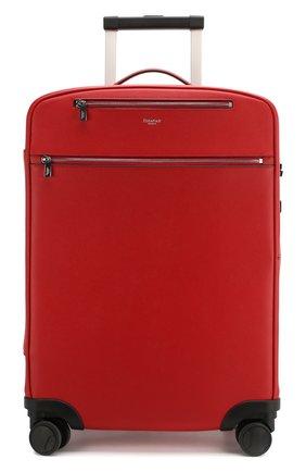 Мужской кожаный чемодан evoluzione SERAPIAN красного цвета, арт. SEV0LMTR7064M55A | Фото 4