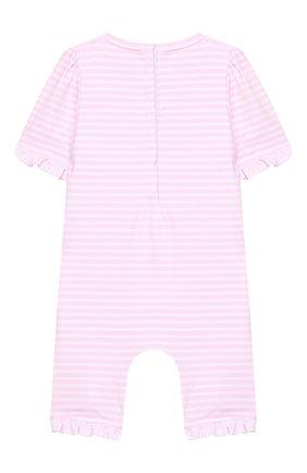 Детского плавательный комбинезон SUNUVA розового цвета, арт. S2033/1-6 | Фото 2