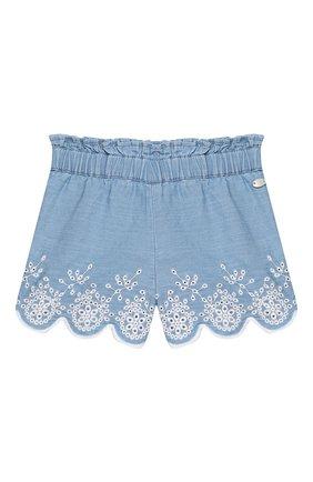 Детские хлопковые шорты TARTINE ET CHOCOLAT синего цвета, арт. TQ26061/18M-3A | Фото 1