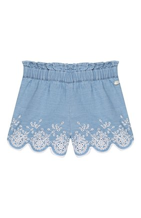 Детские хлопковые шорты TARTINE ET CHOCOLAT синего цвета, арт. TQ26061/4A-5A | Фото 1